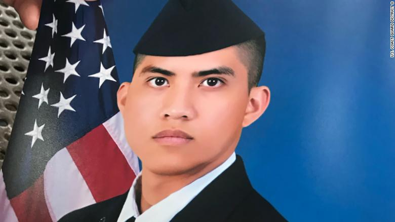 Missing U.S. Air Force member Elijah Posana.