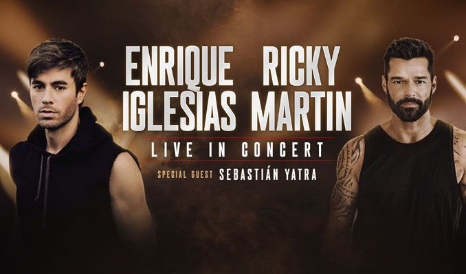New El Paso concert date set for Latin stars Enrique Iglesias and Ricky Martin - KVIA