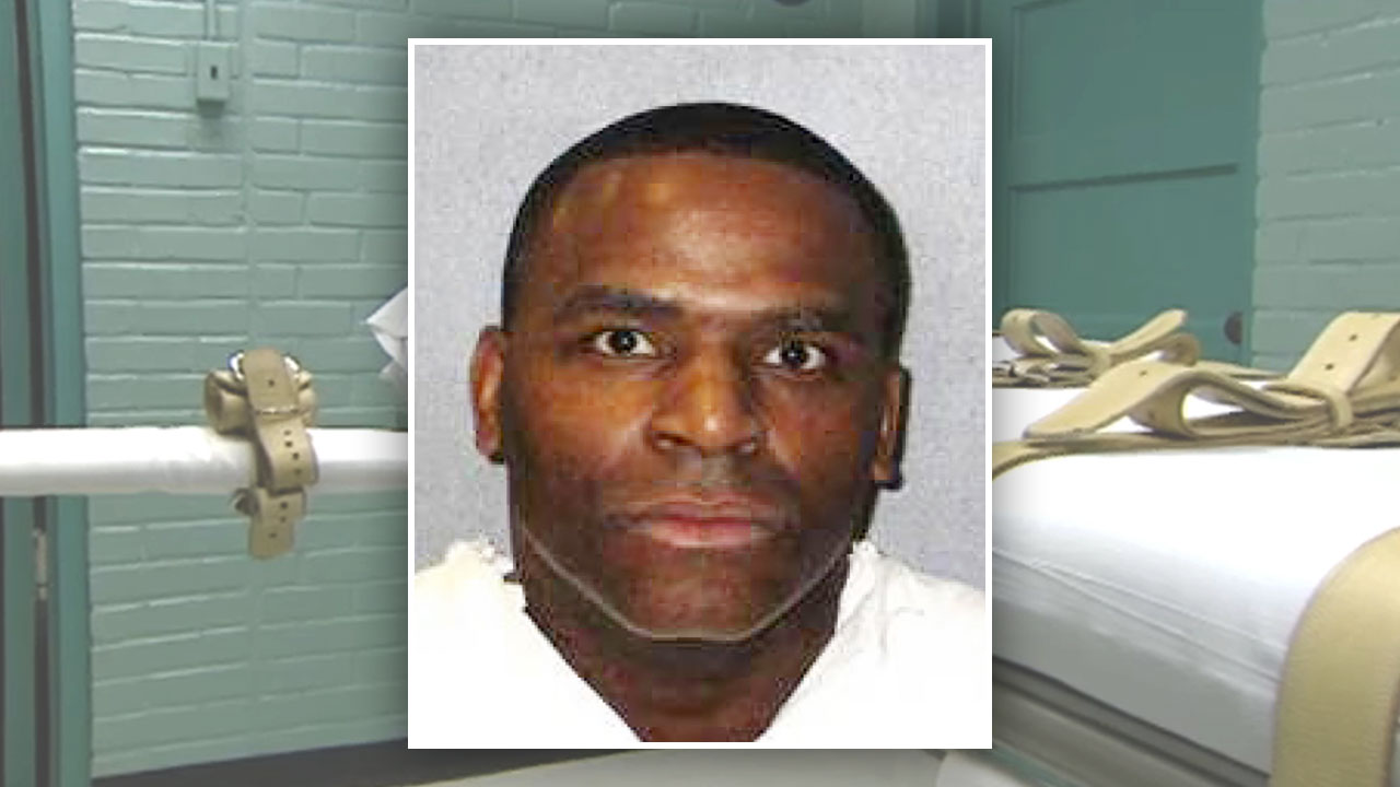 Quintin Jones, inmate executed by the state of Texas.