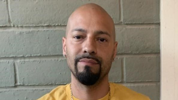 Mario Josue Escajeda, charged with promoting prostitution and gun violations.
