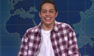 """Pete Davidson says he isn't sure if he'll be returning to """"Saturday Night Live"""" next season."""