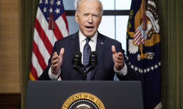 President Joe Biden meets Afghanistan's leaders at the White House on Friday. US troops are withdrawing from the country.