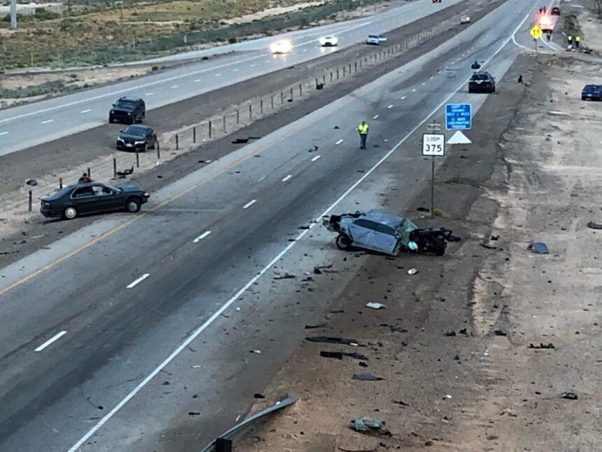 loop 375 fiery fatal crash