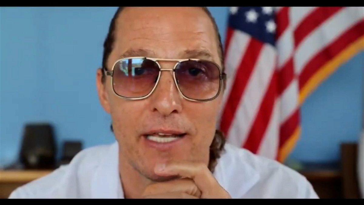 <i>Matthew McConaughey</i><br/>Matthew McConaughey left some people