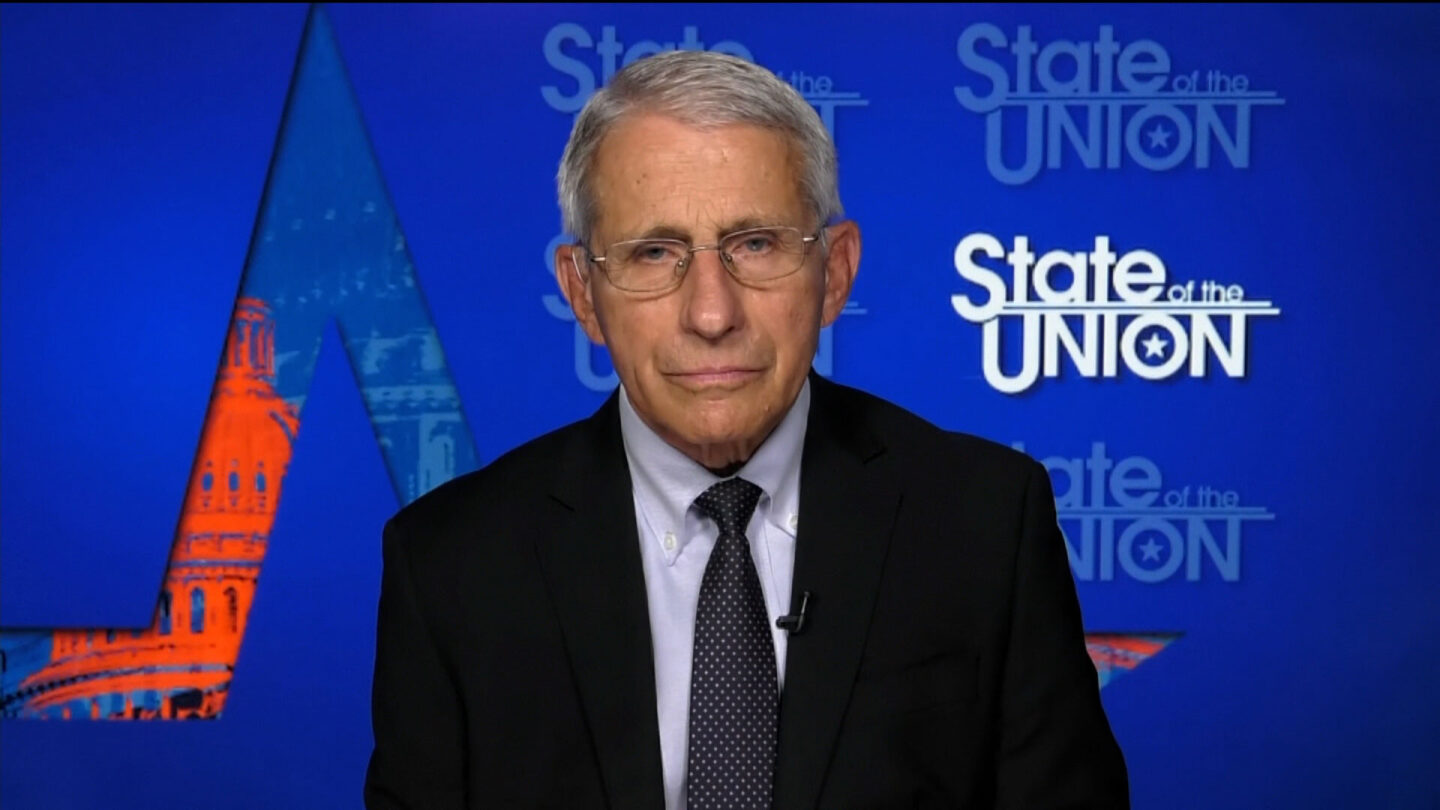 <i>CNN</i><br/>Dr. Anthony Fauci said July 25 that the US is