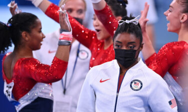 The US women's gymnastics team competed in the team final July 27.