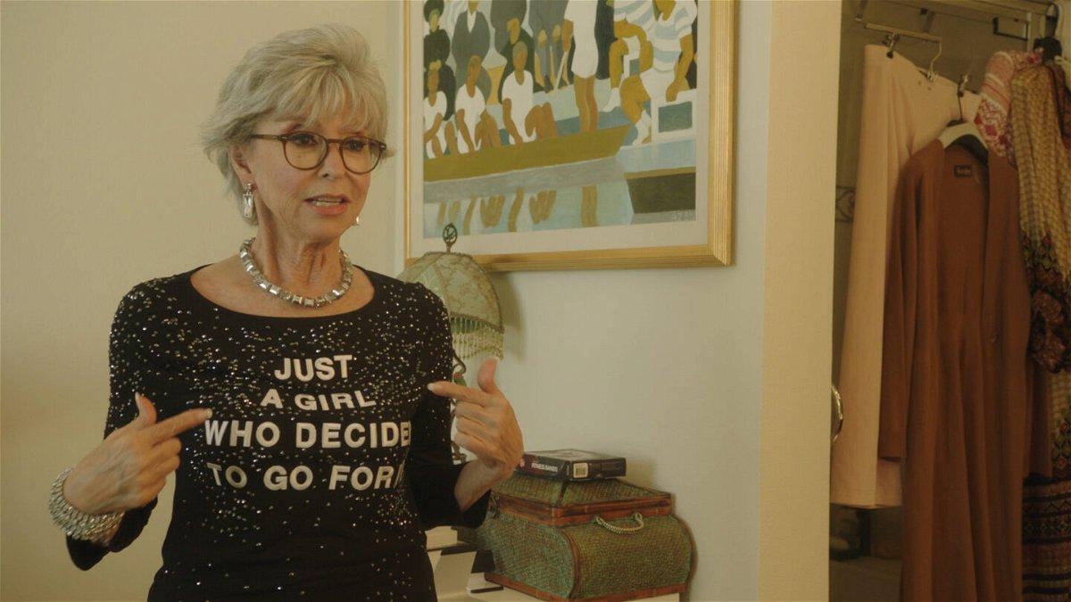 Rita Moreno is seen in the documentary