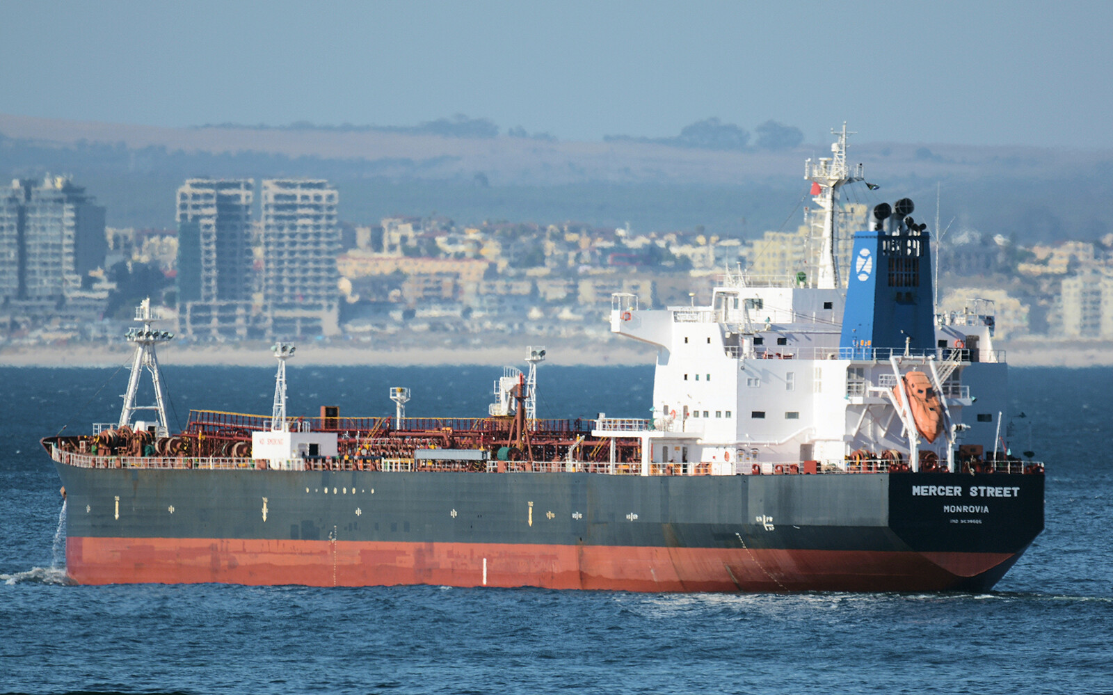 <i>Johan Victor/AP</i><br/>Two crewmembers died when a tanker connected to an Israeli billionaire was attacked off the coast of Oman