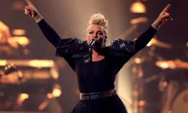 Pink told her 31.6 million Twitter followers that she was proud of the team's protest.