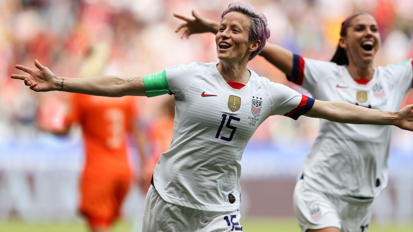 <i>Richard Heathcote/Getty Images</i><br/>Players from the United States women's national soccer team.