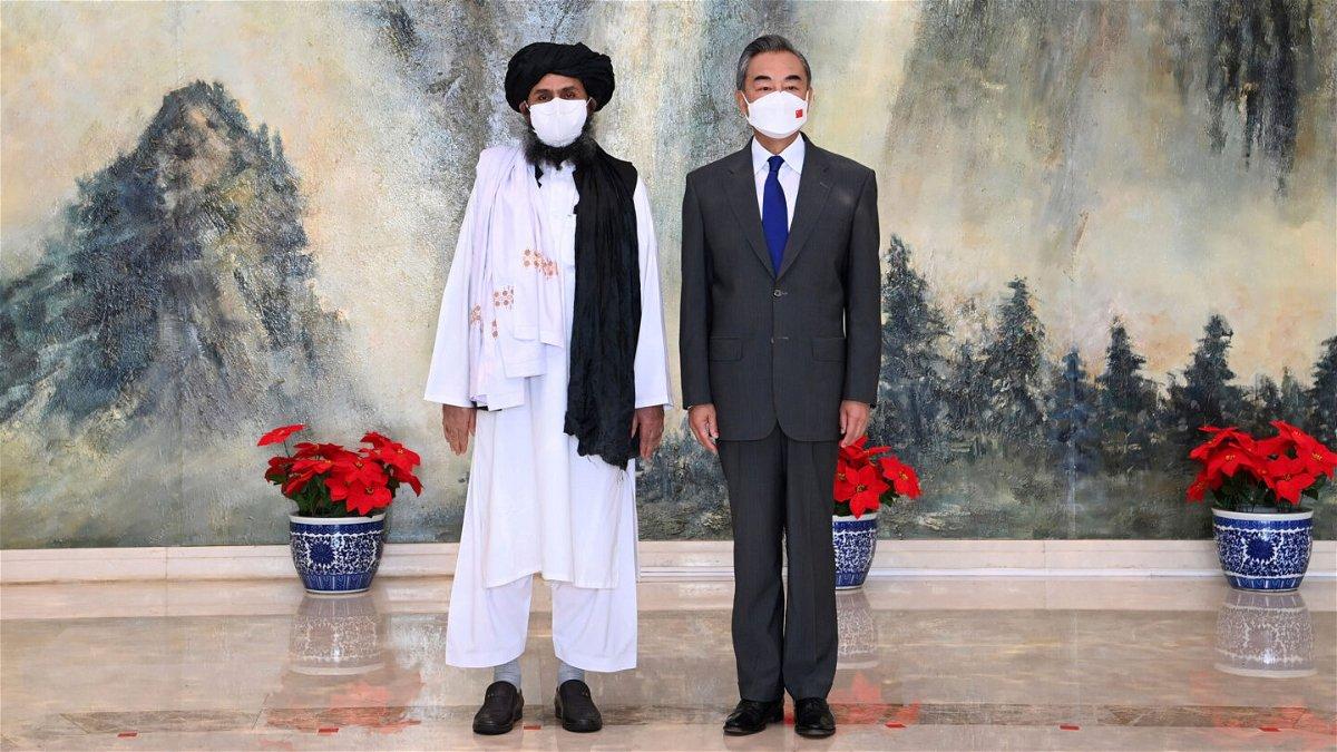 <i>Li Ran/Xinhua/AP</i><br/>Taliban co-founder Mullah Abdul Ghani Baradar