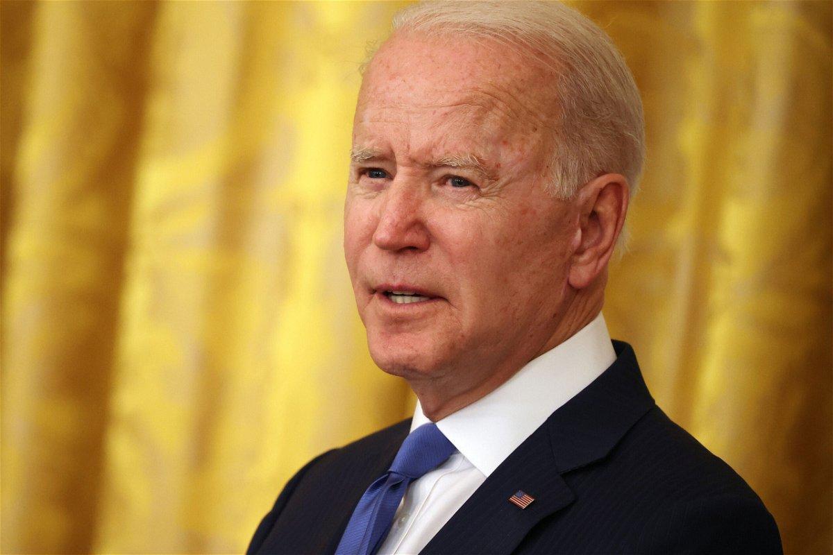 <i>Chip Somodevilla/Getty Images</i><br/>President Biden.