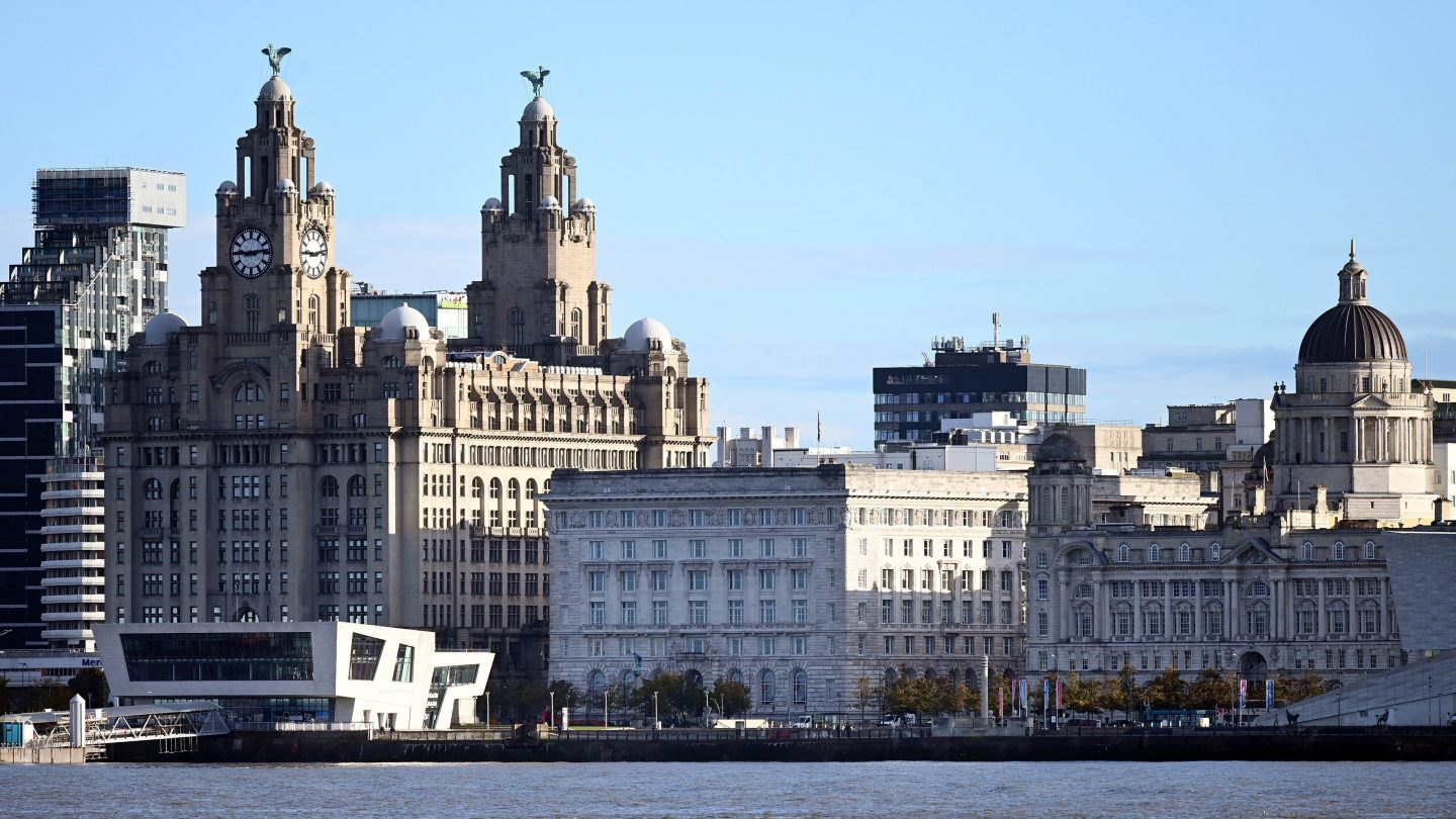 <i>PAUL ELLIS/AFP via Getty Images</i><br/>Liverpool has held UNESCO World Heritage status since 2004. It's famous for its docks
