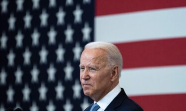 U.S. President Joe Biden speaks about voting rights at the National Constitution Center on July 13