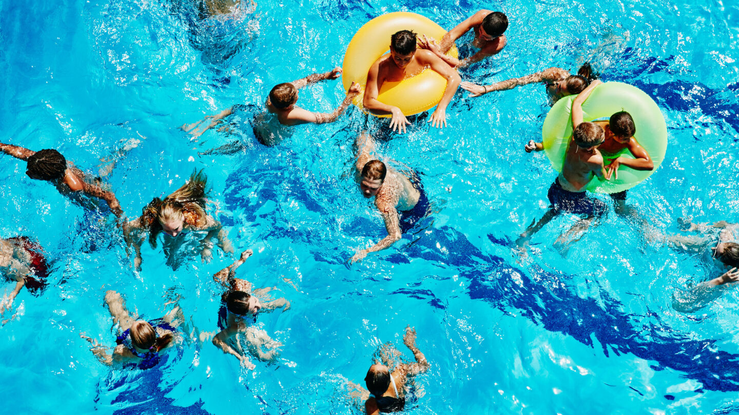 <i>Thomas Barwick/Stone RF/Getty Images</i><br/>Swimming is a fun activity in the summer but can quickly turn deadly when children are not supervised.