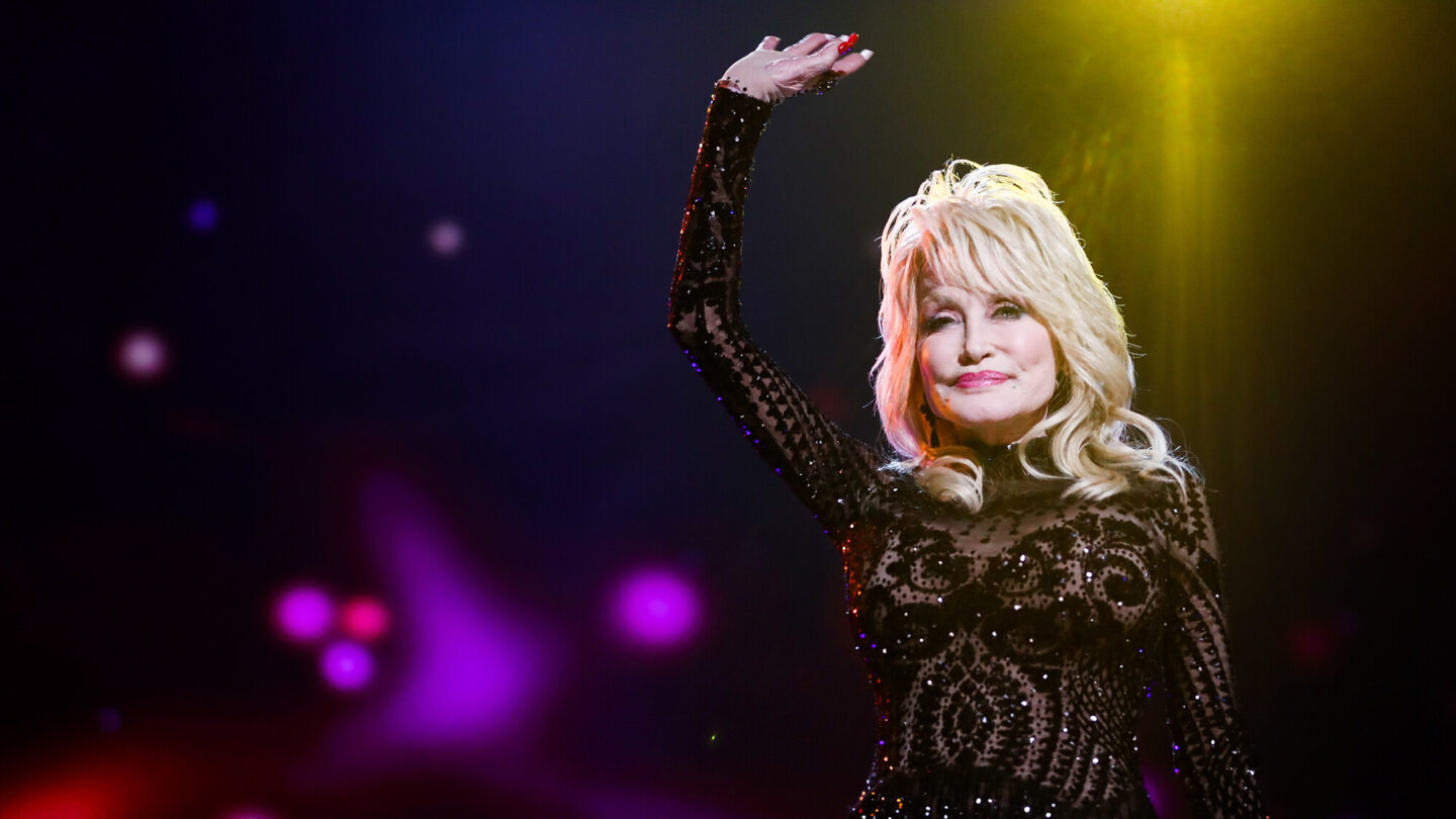 <i>Rich Fury/Getty Images for The Recording Academy</i><br/>Dolly Parton has recreated her 1978 Playboy magazine cover for her husband's birthday.