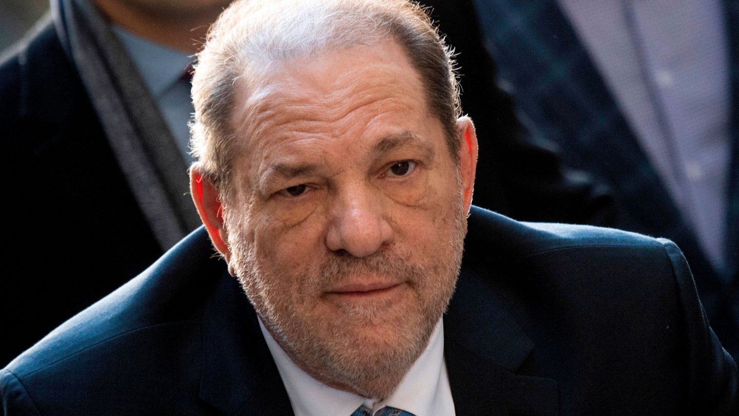 <i>Johannes Eisele/AFP/Getty Images</i><br/>Harvey Weinstein was moved early July 20 to California per a court order