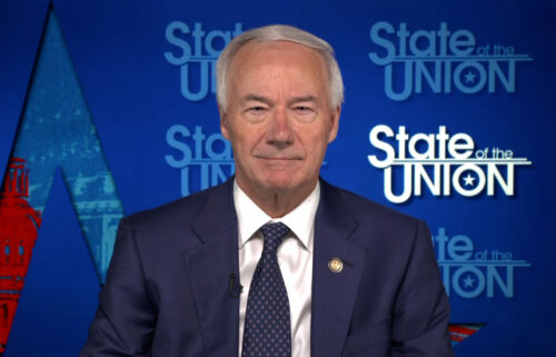 Arkansas Gov. Asa Hutchinson on July 25 defended his decision to approve a statewide ban on face mask mandates earlier this year