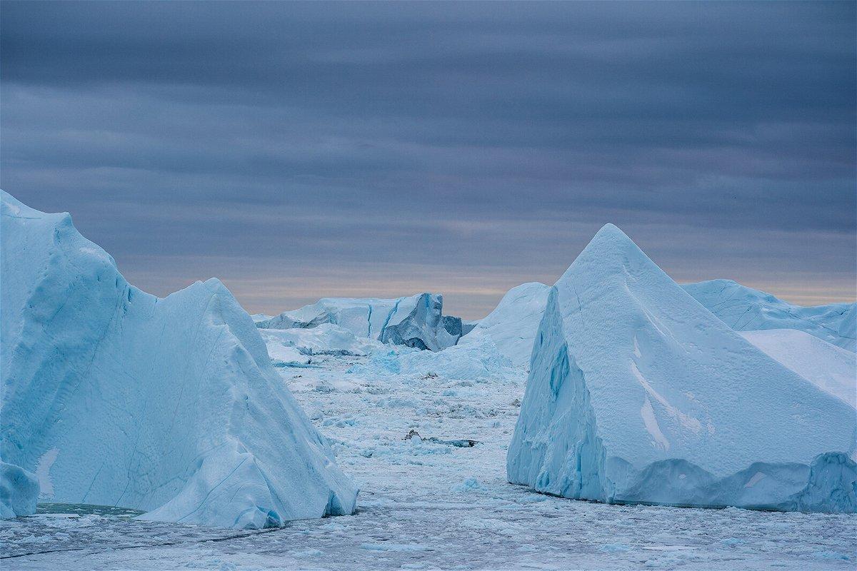 <i>Ulrik Pedersen/NurPhoto/Getty Images</i><br/>Warmer coastal water melts the Greenland ice sheet around the edges