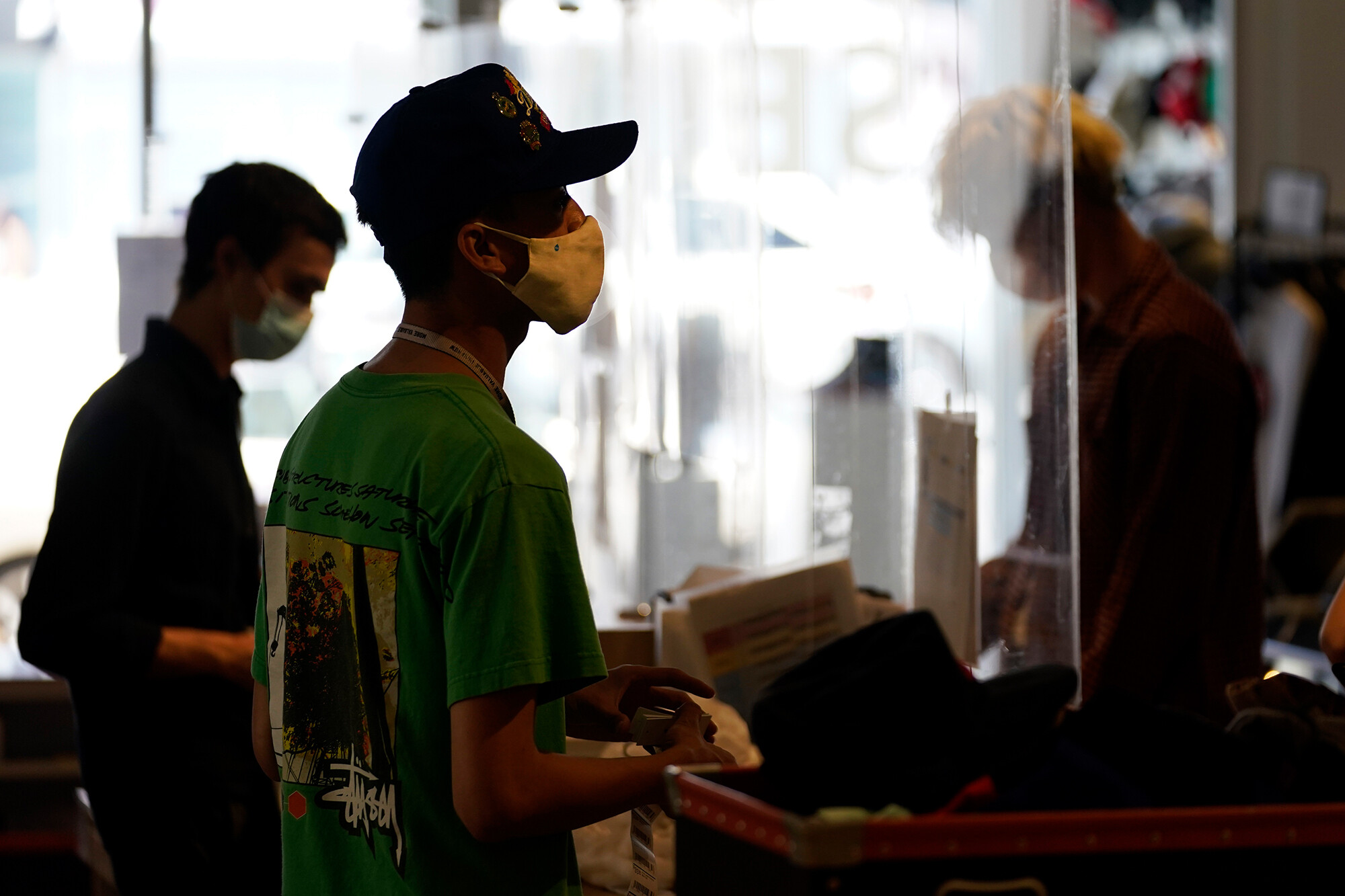 <i>Marcio Jose Sanchez/AP</i><br/>Stores are re-evaluating their mask policies after the US Centers for Disease Control and Prevention updated guidance July 27 to recommend that fully vaccinated people wear masks indoors in areas with high transmission of Covid-19