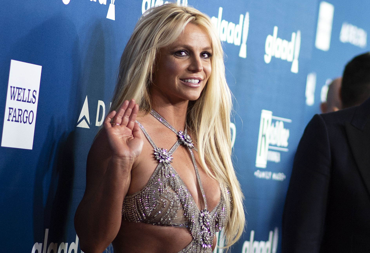 <i>Valerie Macon/AFP/Getty Images</i><br/>Britney Spears.