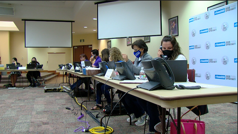 SISD staff call-out to students. Administrators reach out to students to re-enroll back to school.