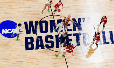 A new report commissioned by NCAA finds a massive gender inequity in college basketball. Oregon Ducks and the South Dakota Coyotes here face off at the 2021 NCAA Women's Basketball Tournament on March 22
