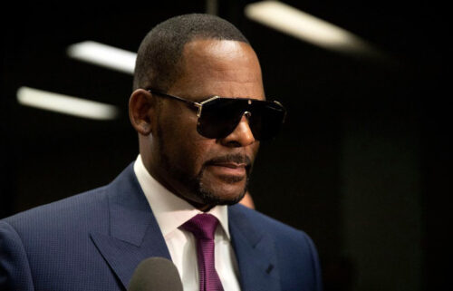 The first male to speak publicly of alleged sexual abuse by R. Kelly testifies at trial on Monday. Kelly here arrives at the Daley Center to attend a child support hearing on March 13