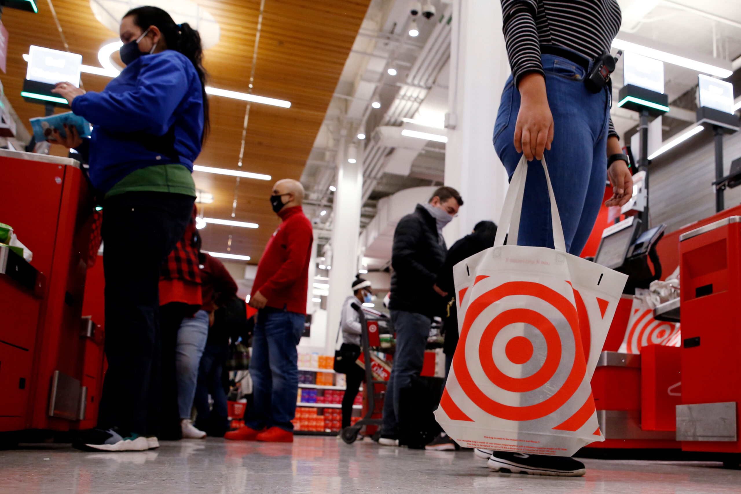 <i>John Smith/VIEWpress/Corbis/Getty Images</i><br/>Target will require masks for workers and recommend masks for all customers in areas with substantial or high risk of transmission.