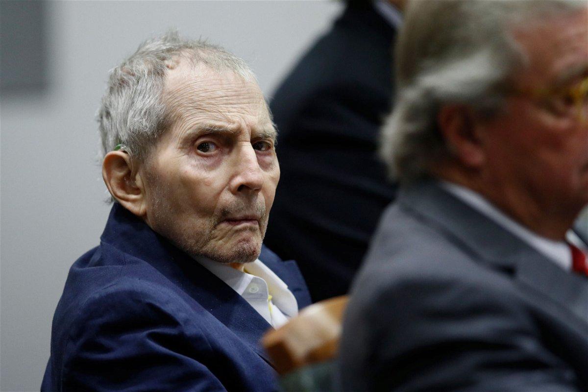 <i>Etienne Laurent/Pool/Getty Images</i><br/>Robert Durst during his murder trial.