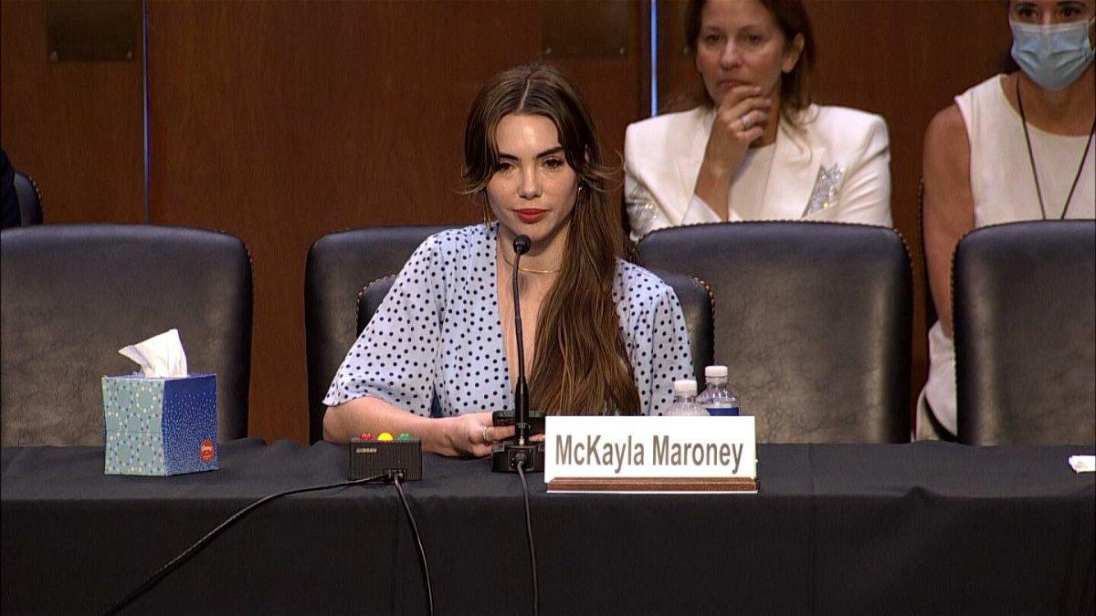 <i>POOL</i><br/>McKayla Maroney: FBI made