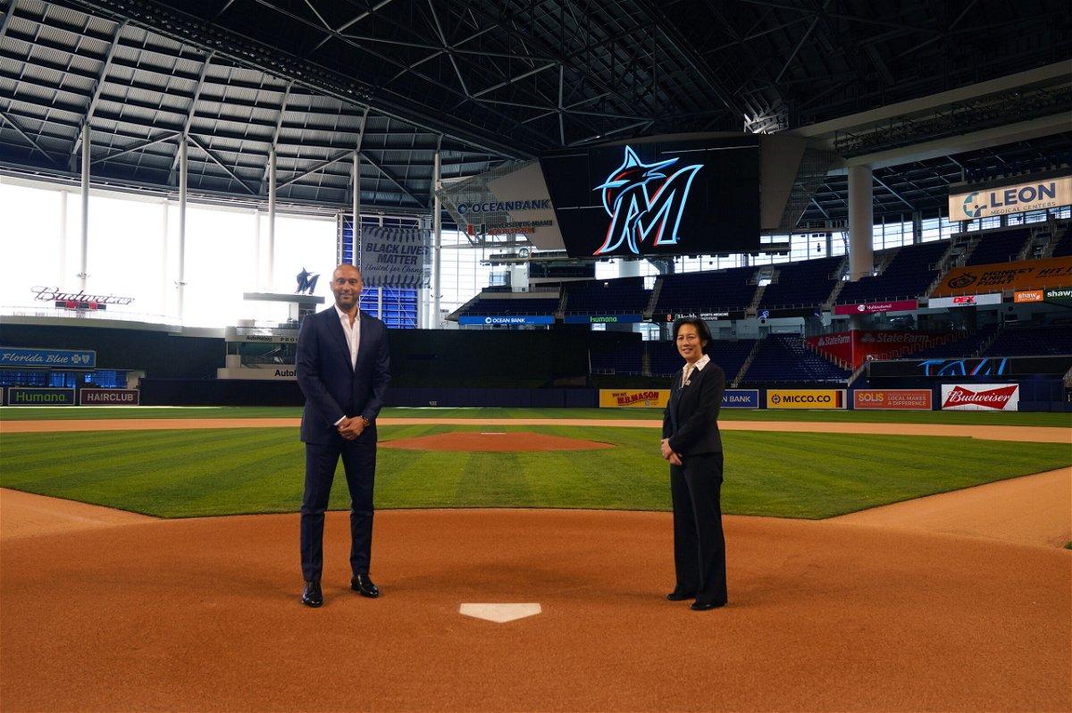 <i>Joseph Guzy/Miami Marlins Handout Photo/USA Today Sports</i><br/>