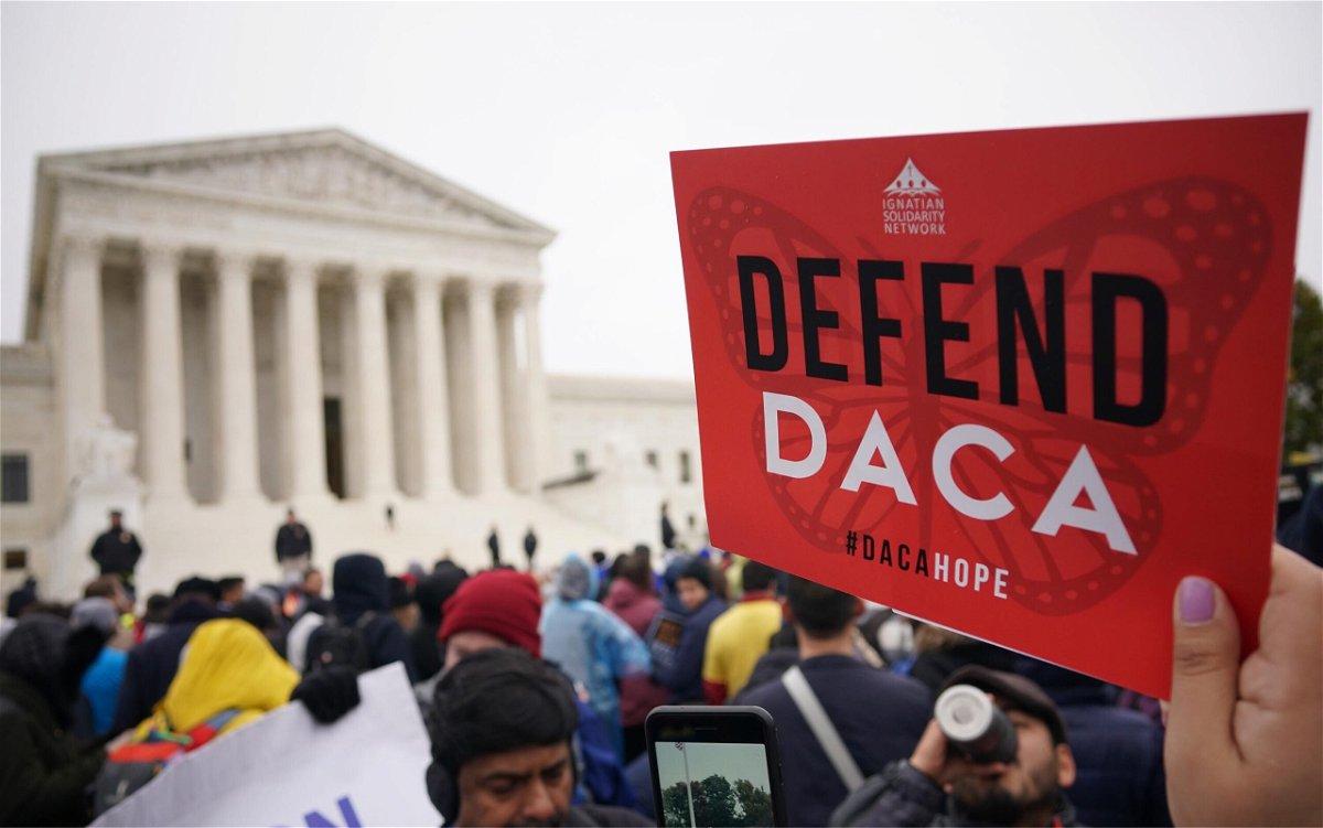 <i>MANDEL NGAN/AFP/Getty Images</i><br/>The Biden administration appealed a Texas court ruling that found the Obama-era Deferred Action for Childhood Arrivals program unlawful