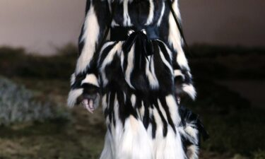 Alexander McQueen's Autumn-Winter 2015 collection at Paris Fashion Week included genuine fur. Though the brand committed to ceasing fur production in April 2021.