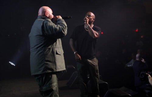 Fat Joe and Ja Rule performing on Tuesday.
