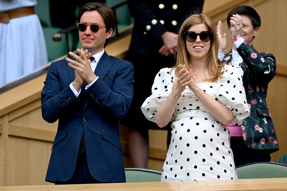 <i>Karwai Tang/WireImage/Getty Images</i><br/>Edoardo Mapelli Mozzi and Princess Beatrice