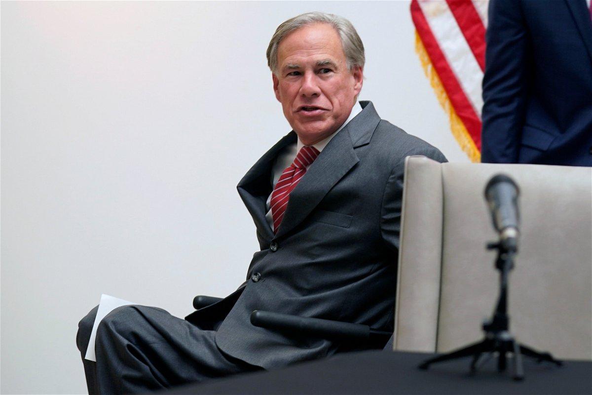 <i>LM Otero/AP/FILE</i><br/>Texas governor Greg Abbott.