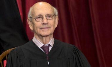 US Supreme Court Justice Stephen Breyer