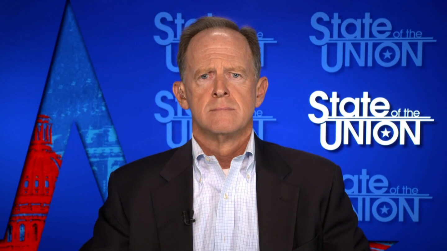 <i>CNN</i><br/>Republican Sen. Pat Toomey said that he opposes a Democratic plan to combine a temporary government funding bill with a suspension of the debt ceiling.