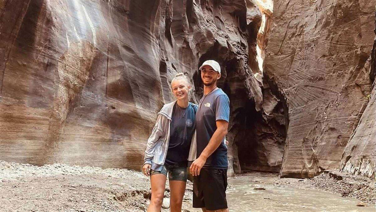 Gabby Petito and her boyfriend/fiance Brian Laundrie.