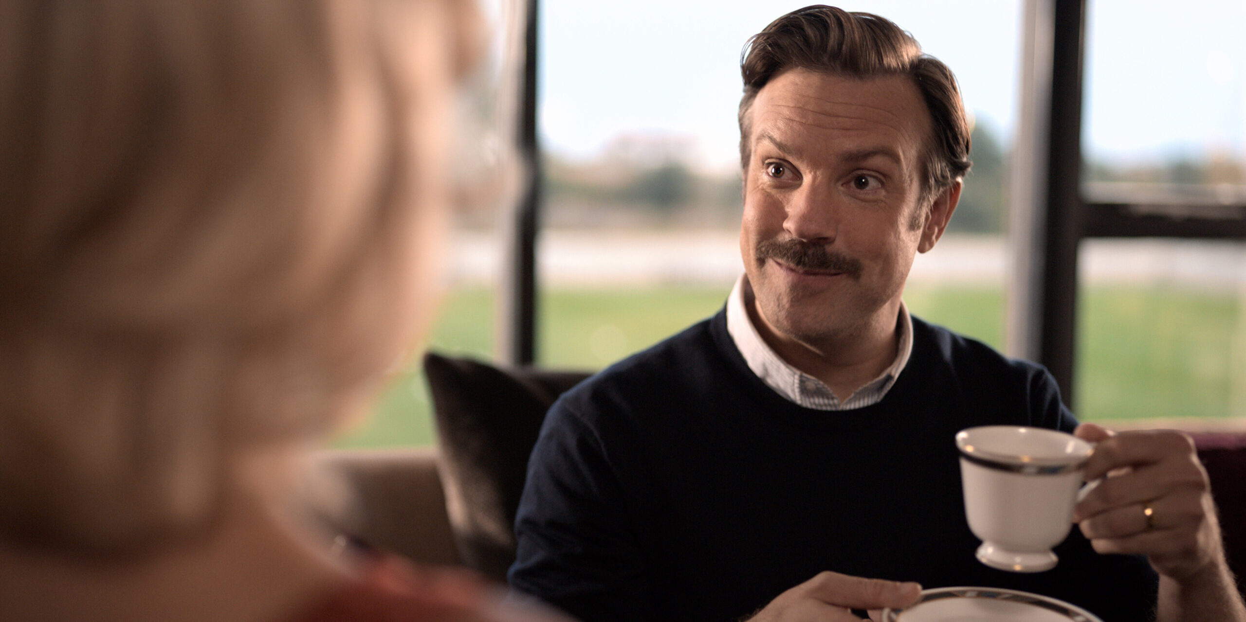 <i>Apple TV</i><br/>Actor Jason Sudeikis won best comedy actor in