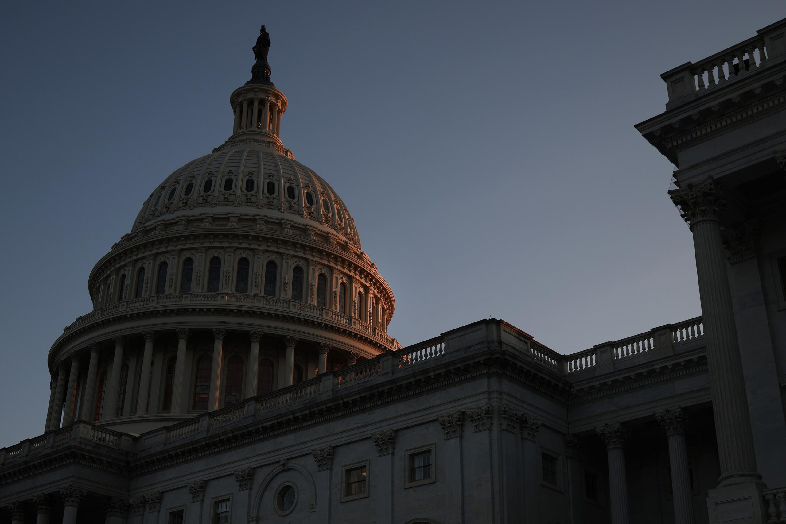<i>Anna Moneymaker/Getty Images</i><br/>The House is set to take up a stopgap spending bill ahead of the September 30 deadline for government funding to expire.