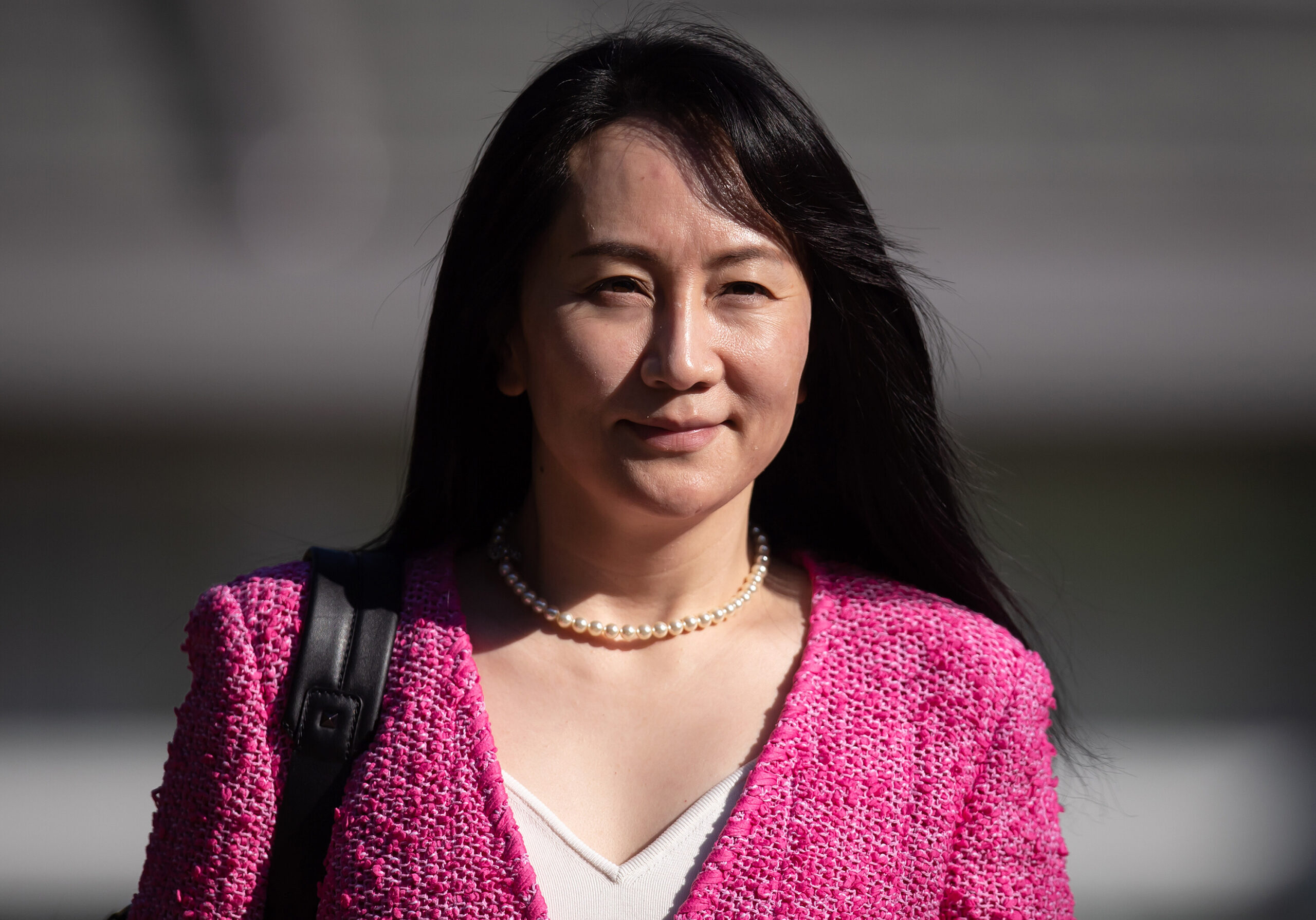 <i>Darryl Dyck/Bloomberg/Getty Images</i><br/>Huawei CFO Meng Wanzhou is expected to appear in a Brooklyn court Friday to plead guilty to US charges.