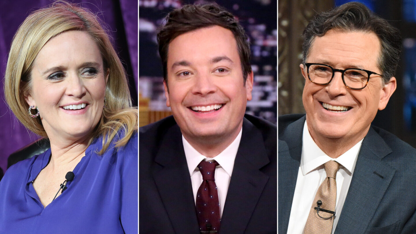 <i>Getty</i><br/>Late-night hosts will unite across networks on September 22 for