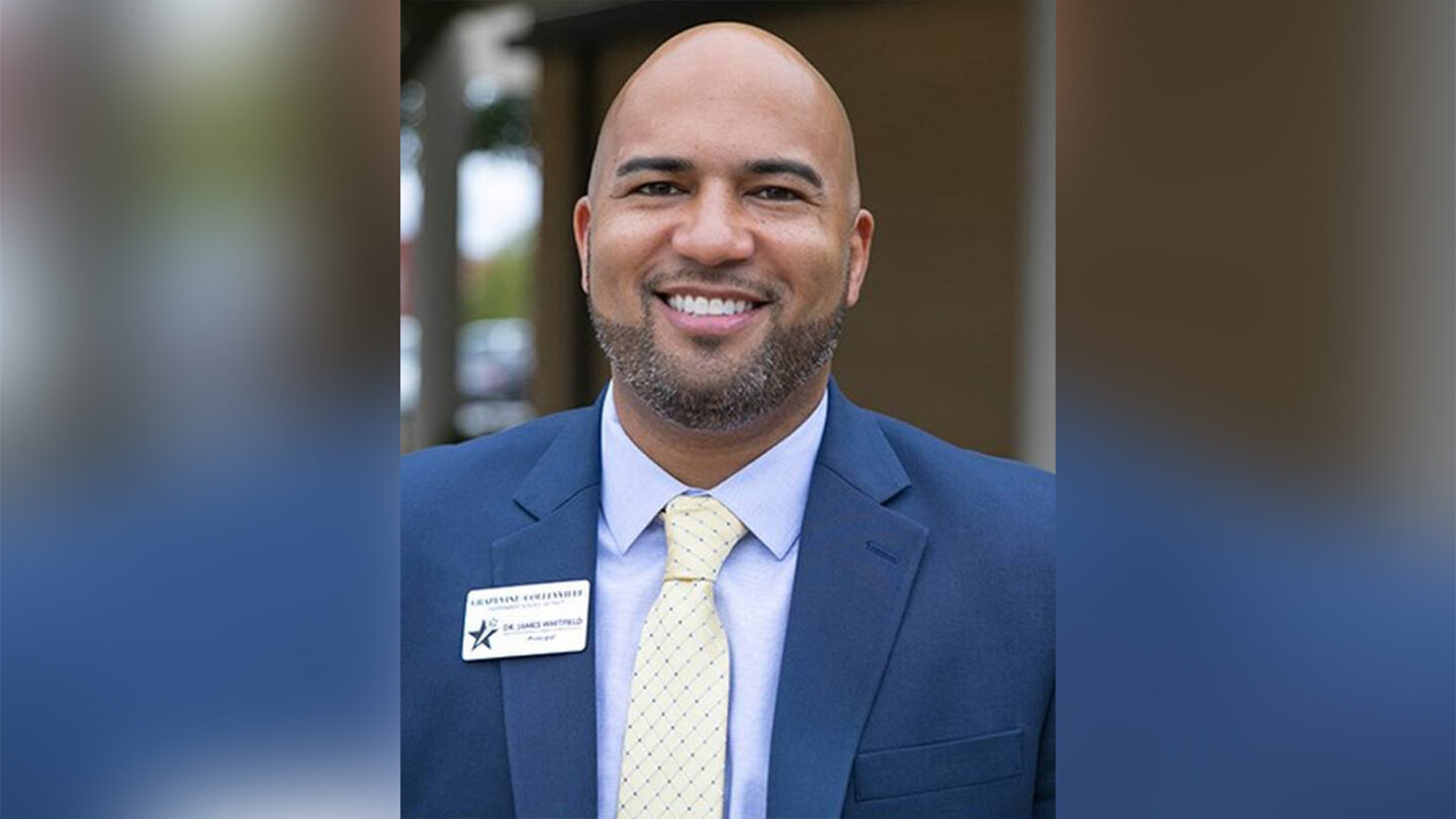 James Whitfield, a high school principal in Texas, found himself in the middle of a controversy over critical race theory.