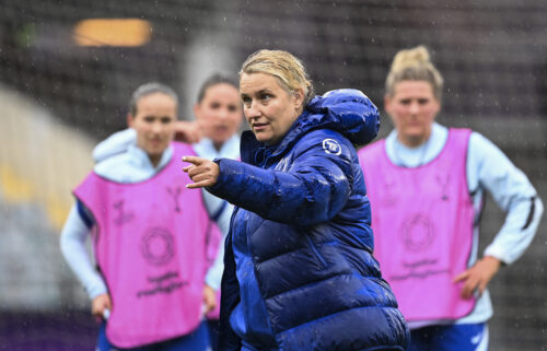 Emma Hayes has been the manager of the Chelsea Women's team for nine years.