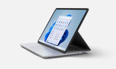 Microsoft's Surface Laptop Studio has three modes: laptop