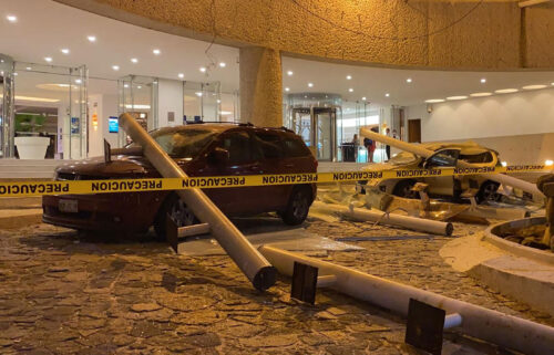 The US Geological Survey says the 7.0 magnitude quake struck about eight miles from the beach resort city of Acapulco