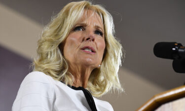 Doctor Jill Biden will be appearing alongside two Democratic gubernatorial candidates who are both locked in tight
