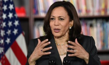Vice President Kamala Harris has plans to campaign for Terry McAuliffe before the November election. Harris is seen here in Washington